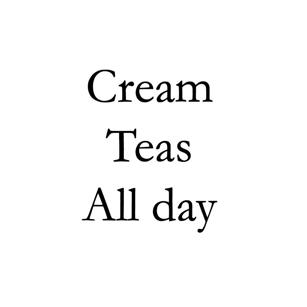 Cream Teas all day